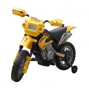 Mini Moto Cross Pour Enfant Électrique Jouet Loisirs Pour Petits Noir