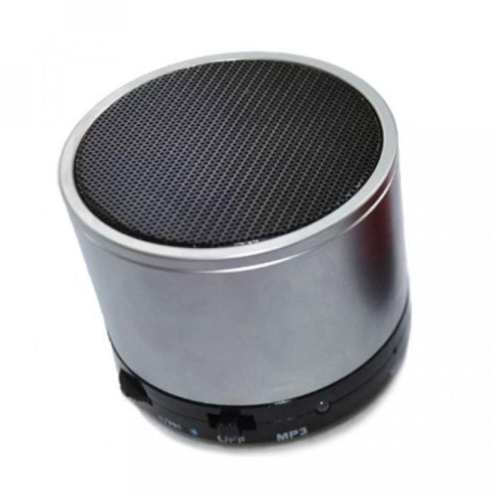Enceinte Bluetooth Minispeaker metal gris enceintes bluetooth, prix