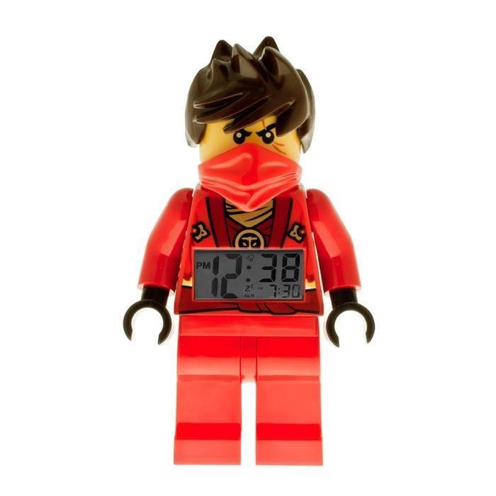 Ninjago Kai 'Lego' Noir et rouge Enfant Réveil de chez 'Lego