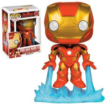 marvel avengers 2 iron man mark43 9 cm autres figurines et répliques