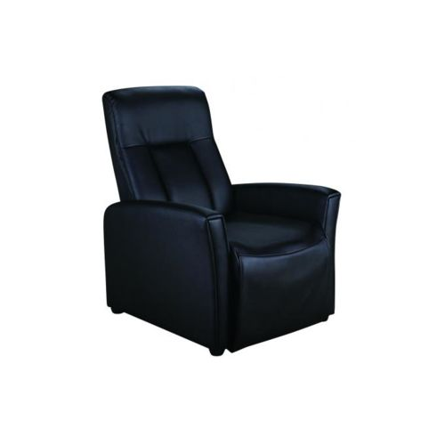 fauteuil relax simili cuir topiwall. Black Bedroom Furniture Sets. Home Design Ideas