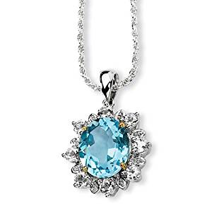 Gift and Jewels Pendentif colliers en argent sterling