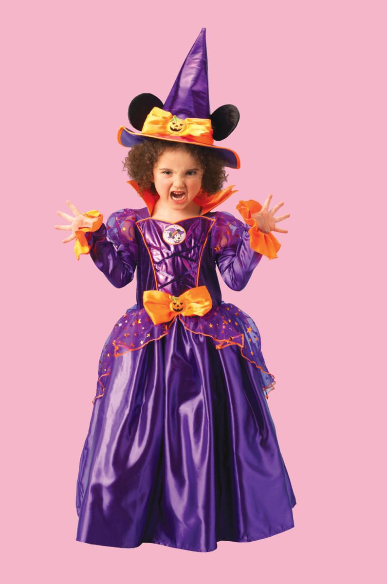 Minnie Mouse Costume Sorcière enfant y compris sorcière 3 883693