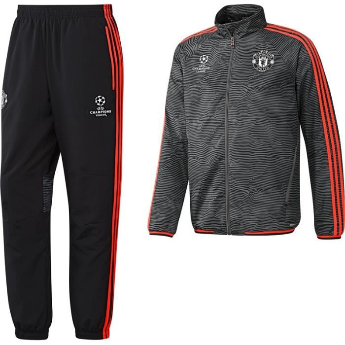 SURVETEMENT HOMME ADIDAS MANCHESTER UNITED AC1975 CHAMPIONS LEAGUE