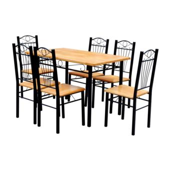 Vidaxl Table + 6 chaises en Mdf pas cher Achat / Vente Cuisine