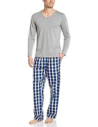 Celio Ensemble de pyjama Uni Homme Bleu XX Large (Taille