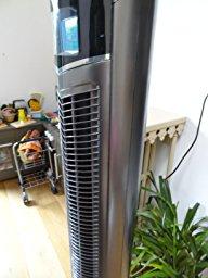 oneConcept Northpeak Ventilateur colonne avec fonction ioniseur et