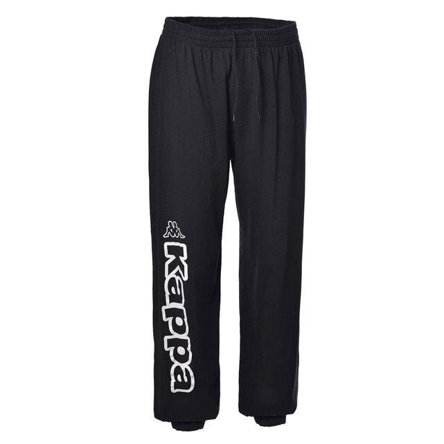 Pantalon sport homme costo molleton black/blanc 005 Kappa