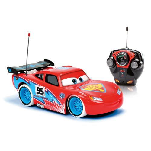 Majorette Cars 2 Rc Flash Mc Queen Ice pas cher Achat / Vente