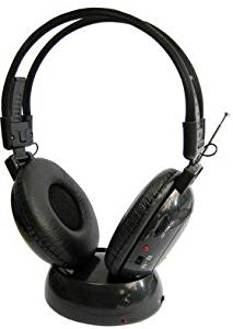 CASQUE AUDIO HIFI SANS FIL AVEC RADIO FM INTEGREE POUR TV, PC, MP3