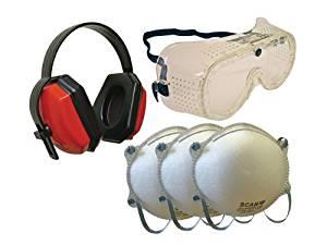 Lunettes masque Casque anti bruit 3 masques: Bricolage