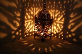 100 cm!! Lampe Marocaine lanterne FNAR lustre bougeoir
