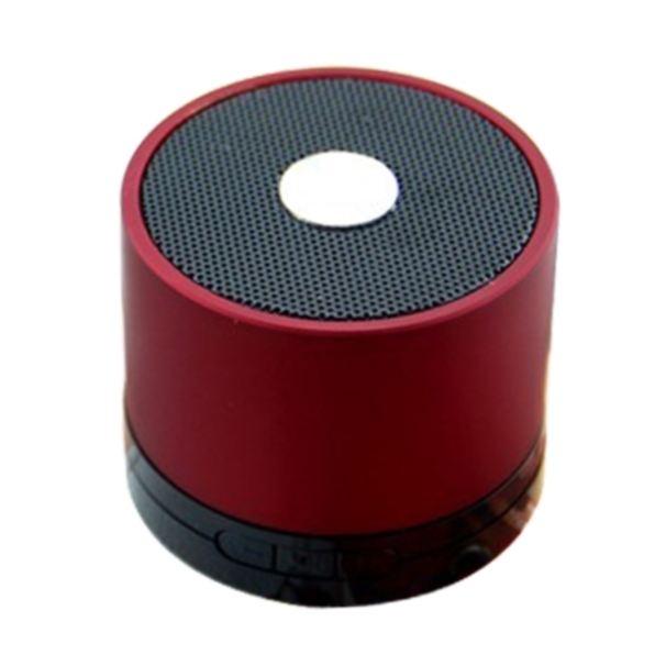 enceinte Bluetooth INNOVATEC rouge lecteur mi enceintes bluetooth