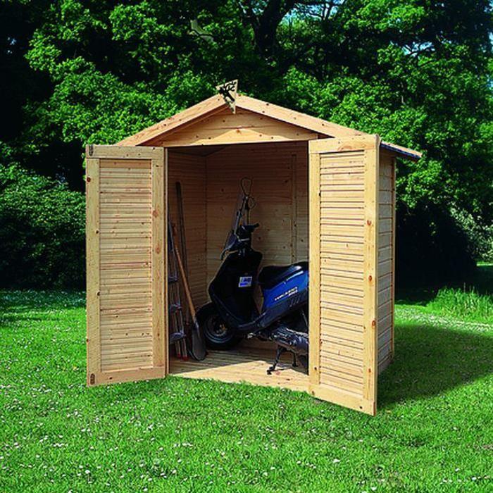 Abri de jardin bois 3.68 m2 TOBIN 2 (14mm) Achat / Vente abri jardin