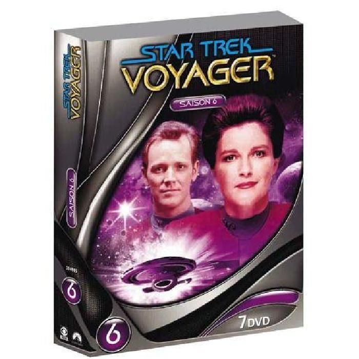 DVD Star trek voyager, saison 6 en dvd série pas cher