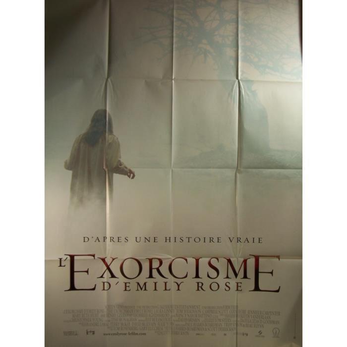 Affiche de cinema EXORCISME D'EMILY ROSE (L') Achat / Vente