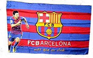 Officiellement certifié Drapeau FC Barcelone Barcelona 90cm x 150cm