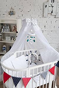 ComfortBaby© Lit bébé 7 u 1 Lit cododo et berceau en bois