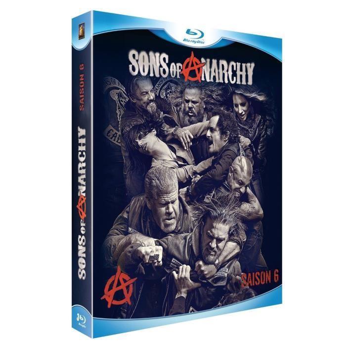 Blu Ray Coffret sons of anarchy, saison 6 en blu ray série pas cher