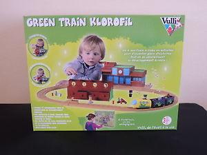 Vulli Petit Green Train Famille Klorofil Arbre magique