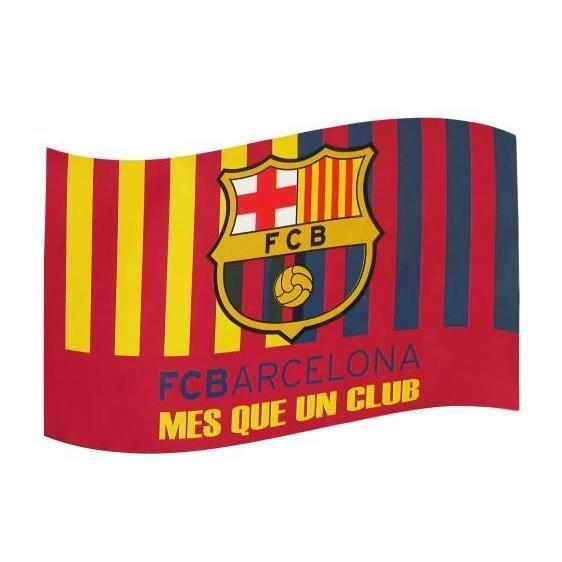 DRAPEAU OFFICIEL FC BARCELONE NEUF Achat / Vente drapeau banderole