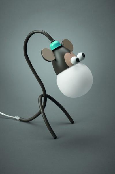 Lampe de table pour enfant Liseuse Motif Girafe Lampe