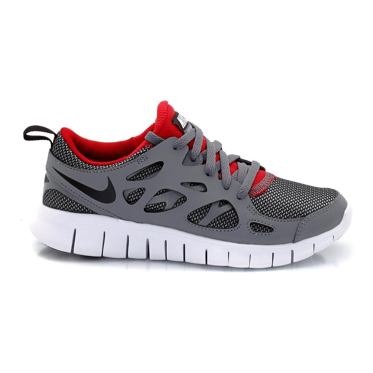 Nike Free Run 2 (GS) Laufschuhe photo blue-white-black - 37,5