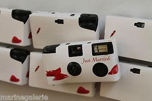 appareil photo jetable mariage