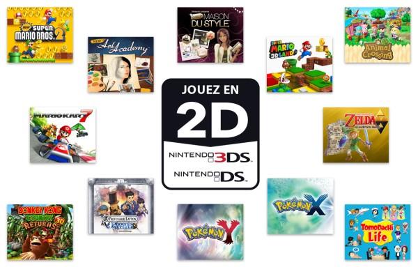 DS pour rejouer à vos jeux favoris et pour en découvrir de nouveaux
