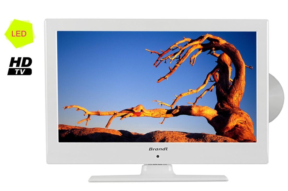 TV LED Brandt B1925WHD LED/DVD BLANC B1925WHD (1360710) |