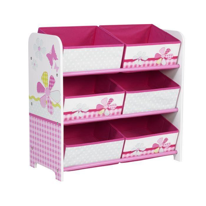 rangement enfant Lili Butterfly Rose Achat / Vente petit rangement