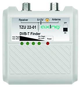 Axing TZU 22 01 DVB T Pegelindikator Signalfinder mit LED