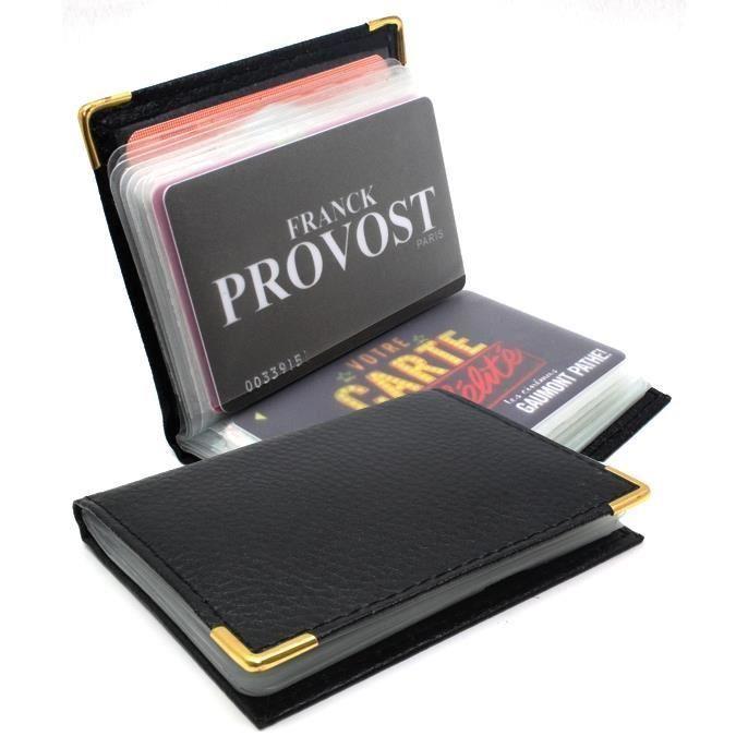 Porte cartes Étui à cartes Homme Femme