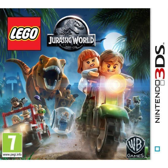 LEGO Jurassic World Jeu 3DS Achat / Vente jeu 3ds LEGO Jurassic