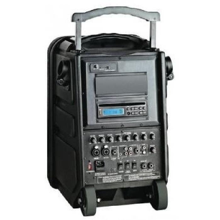 sono portable cd usb et micro uhf PWA100 BST enceinte et retour