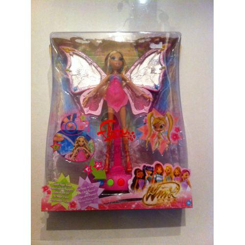 Poupée winx Club Flora Enchantix Lumineuse et Musicale Mattel Mattel