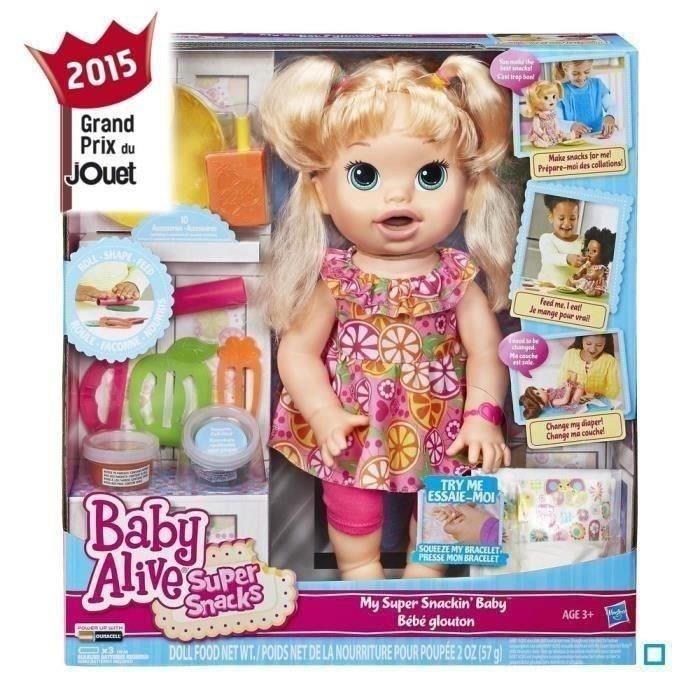 BABY ALIVE Sarah Ma Poupee Gourmande Achat / Vente poupée