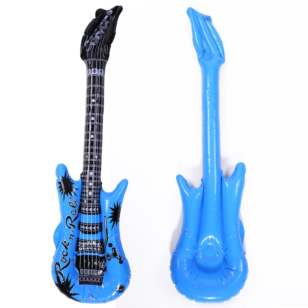 10x Guitare gonflable 5 couleurs Cadeau Pour Enfant Jeux
