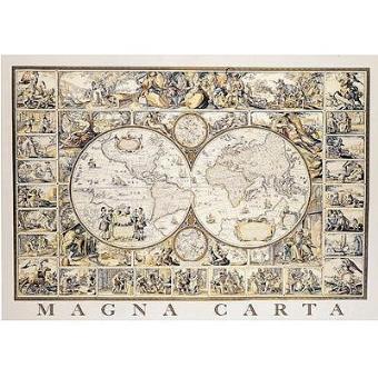 Puzzle 1500 pièces Carte du monde Achat & prix Fnac