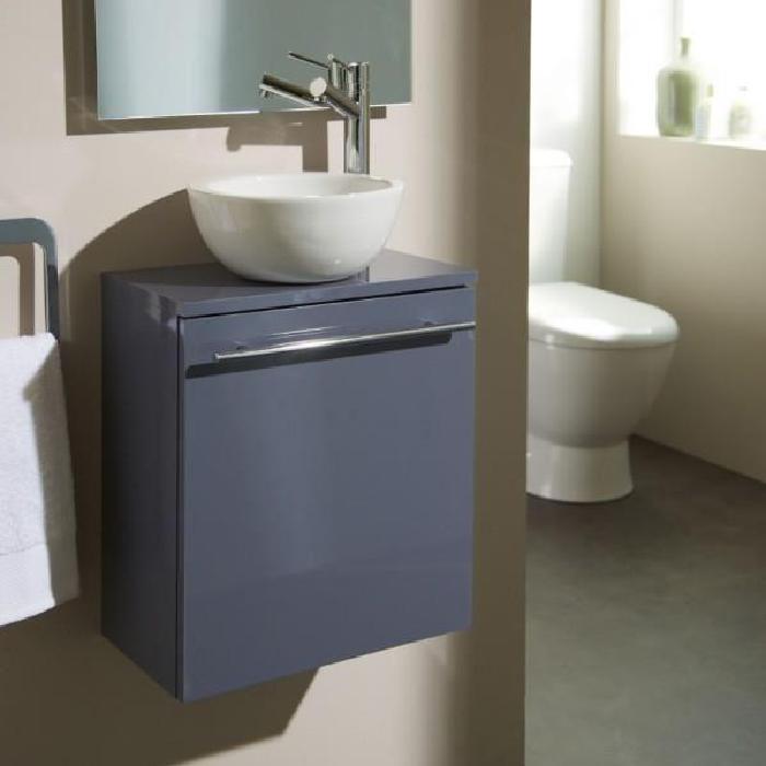 Pack lave mains bol florence gris souris Achat / Vente salle de bain