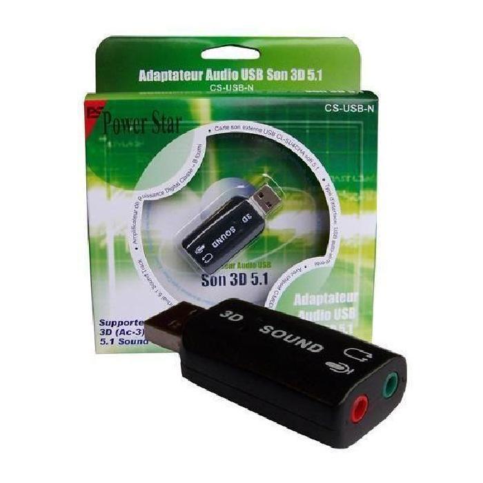 carte son externe usb cs usb n Achat / Vente carte son