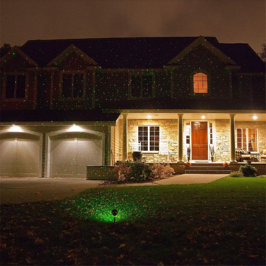 100mW Rouge Vert LED Projecteur Laser Éclairage Lumière