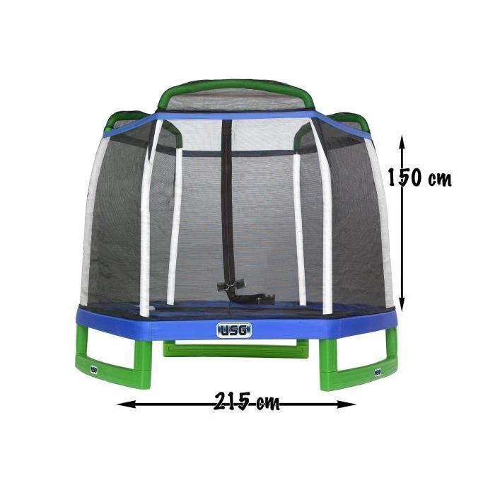 USG Trampoline 215 cm Spécial Enfants Achat / Vente trampoline