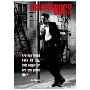 Reservoir dogs posters Achat / Vente Reservoir dogs posters pas cher