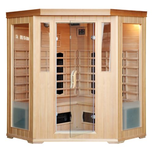 Concept Usine Cabine Sauna Infra Rouge 3/4 Places Luxe Infrarouge