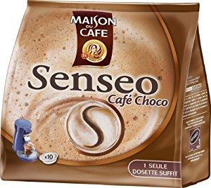Senseo 3228479013599 Gourmands Café Choco 10 Dosettes Café