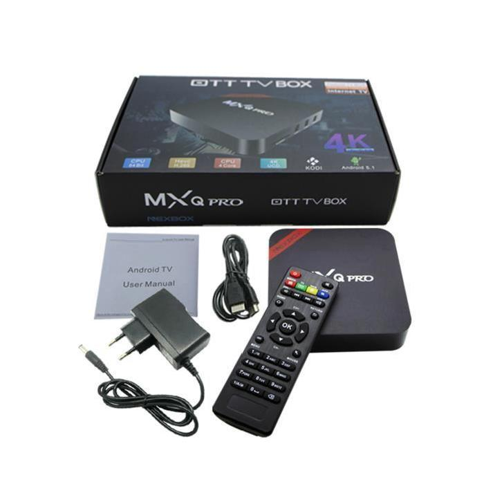 Vococal® TV Box internet Quad Core MXQ NEXBOX Android 5.1 WiFi RC