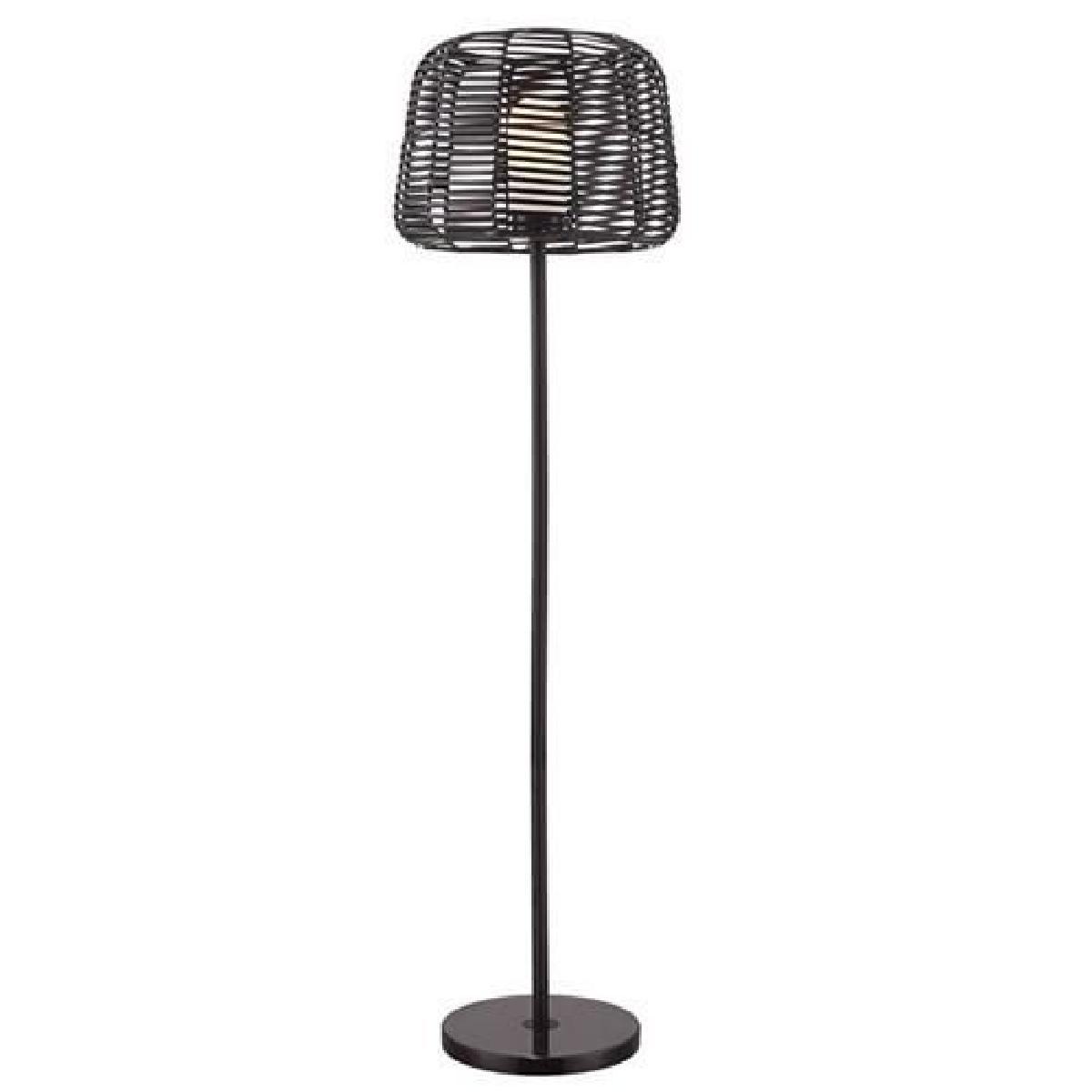 lampadaire d exterieur noir 15 w camargue hk1502
