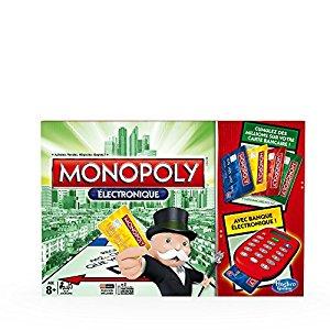 Jeu De Plateau Monopoly Electronique: Jeux et Jouets
