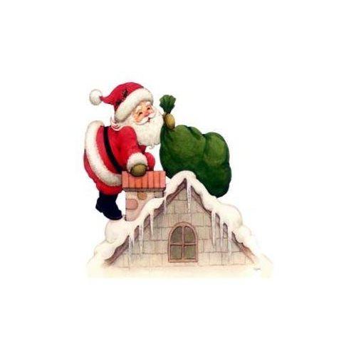 Grille Point De Croix Père Noel Et Cheminée Achat et vente